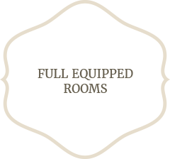 Full Equipped Rooms